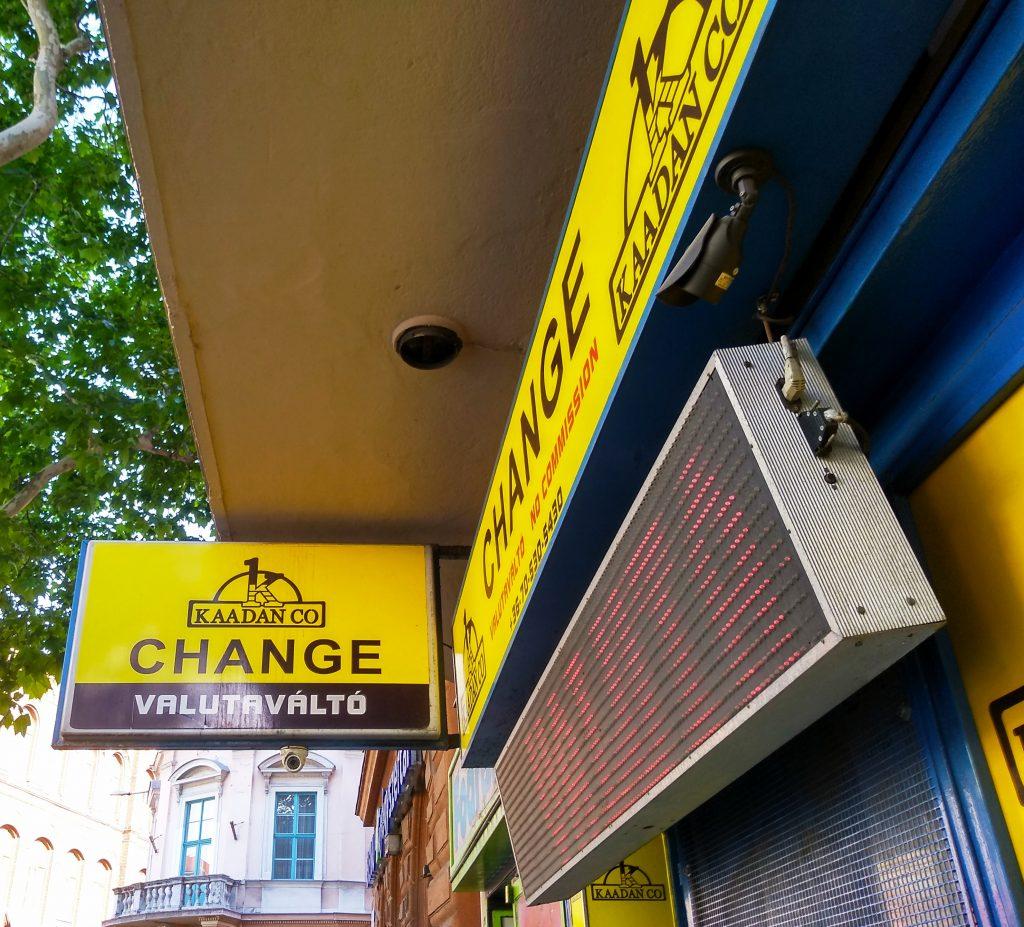 Kaadan Change valutaváltó, 1093 Lónyay utca 3.